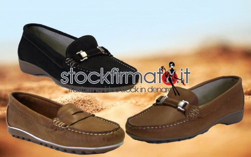 stock AIRFORCE mocassini donna