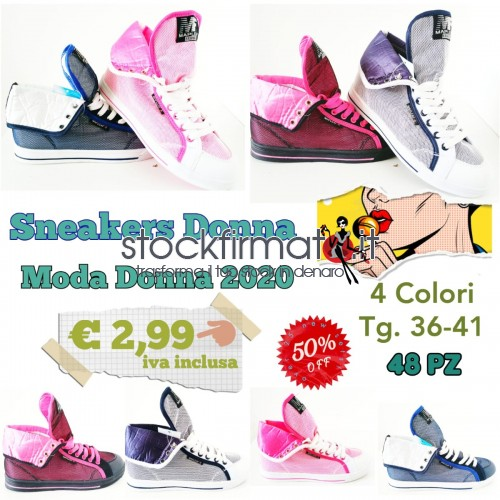 Stock Sneakers Donna Fashion
